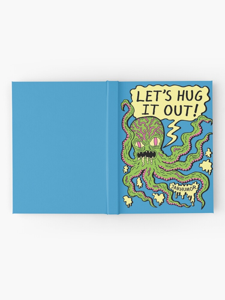 Alternate view of Lets Hug It Out Hardcover Journal