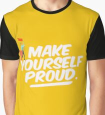 Best Entrepreneur Quotes - Make Yourself Proud Graphic T-Shirt