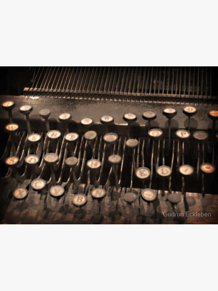 Typewriting by gudders