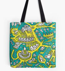 The Town you grew up in (original) Tote Bag