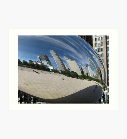 Chicago Reflections Art Print
