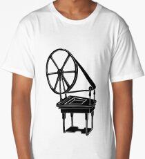Spinning Wheel Long T-Shirt