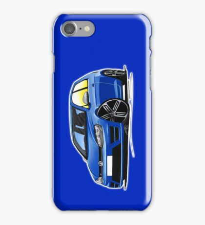 VW Golf (Mk7) R Blue iPhone Case/Skin