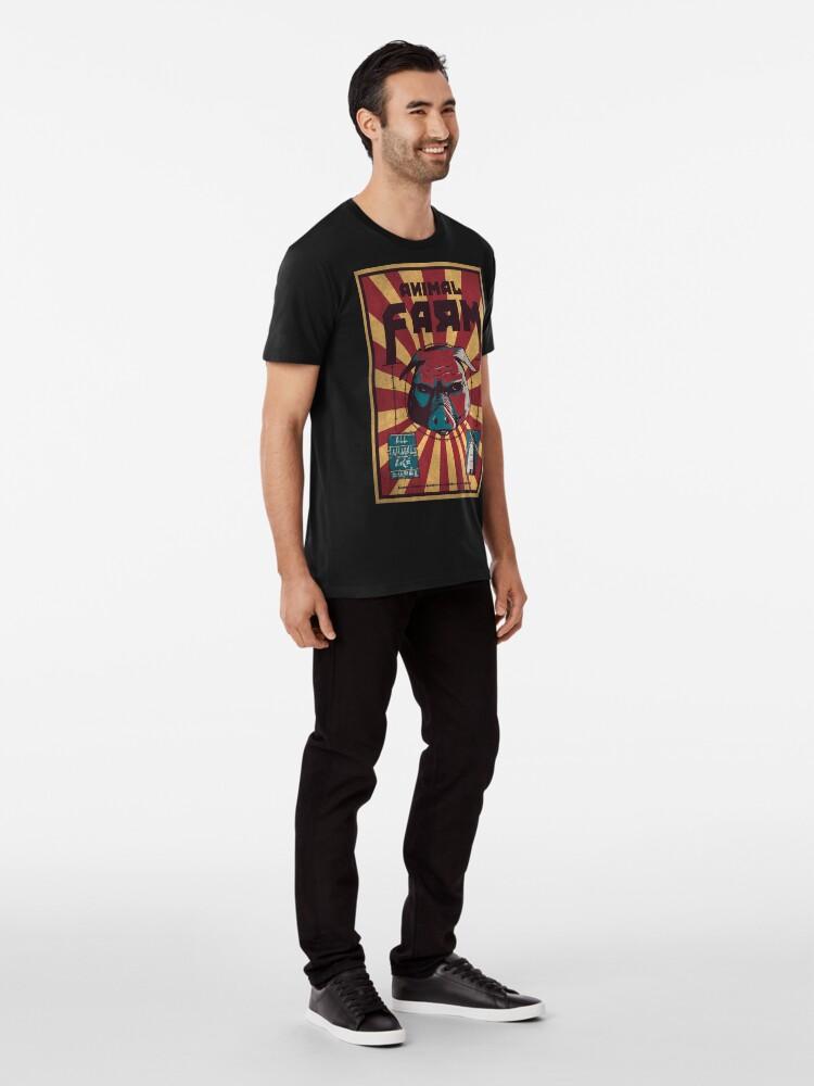 Alternative Ansicht von Animalismus Premium T-Shirt
