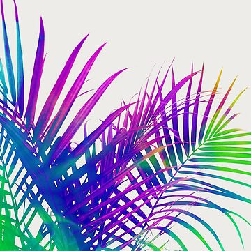 Colorful Palm by 83oranges