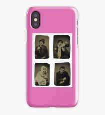 Many faces of an actor iPhone Case