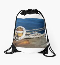 Hope is an anchor Drawstring Bag