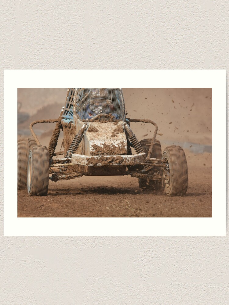 Alternate view of Mud Slinger Art Print