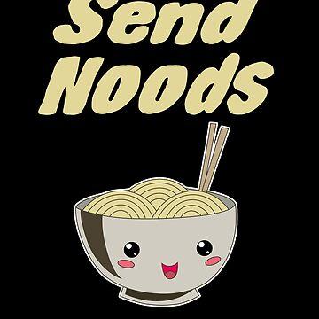 Send Noods Ramen Noodles Lover by Basti09