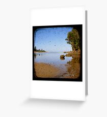 Lake Cathie Through The Viewfinder (TTV) Greeting Card