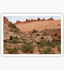 One Hike To Delicate Arch - 2 © Sticker