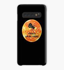 Parker Solarsonne Sun Planet T-Shirt Roboter Raumfahrzeug Hülle & Klebefolie für Samsung Galaxy