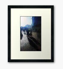 day of long shadows Framed Print