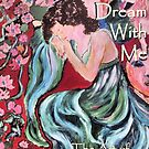 Cover for my art book COME DREAM WITH ME by Sandy DeLuca