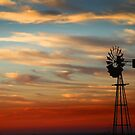 Windmill at sunrise by Mugsy