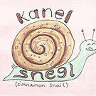Kanel Snegl | Cinnamon Snail by Gina Lorubbio