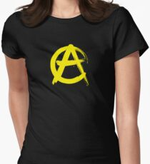 Anarcho-Capitalism Women's Fitted T-Shirt