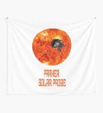 Parker Solar Probe T-Shirt Roboter Raumfahrzeug Sun Planet Wandbehang