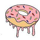 Dripping Donut by bkidesigns