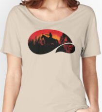 """""""Outlaws To The End""""- Red Dead Redemption 2 Women's Relaxed Fit T-Shirt"""