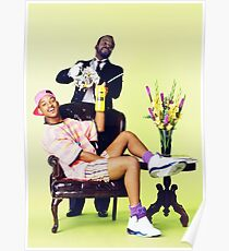 Will Smith the Fresh Prince Poster