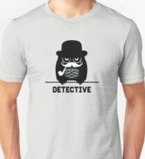 Detective Owl - Owl Unisex T-Shirt