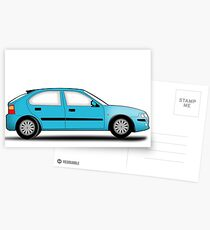Rover 25 / MG ZR Postcards