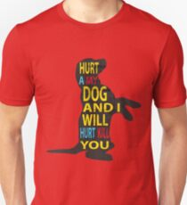 Don't hurt dogs. Unisex T-Shirt