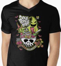 Camiseta para hombre de cuello en v Oogie Boogie Loops