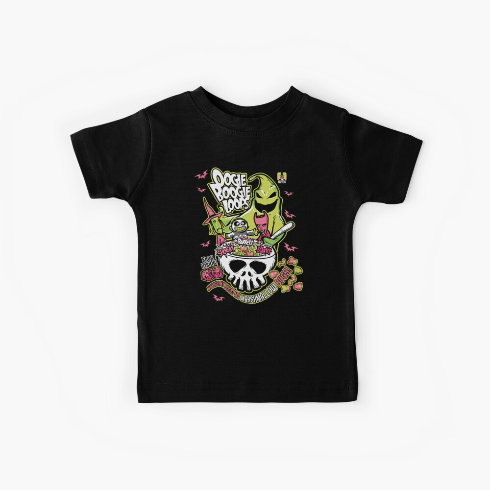 Oogie Boogie Loops Kids T-Shirt