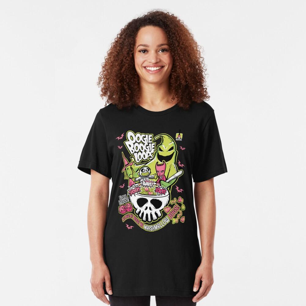 Oogie Boogie Loops Slim Fit T-Shirt