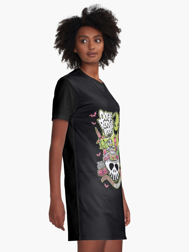 Alternate view of Oogie Boogie Loops Graphic T-Shirt Dress