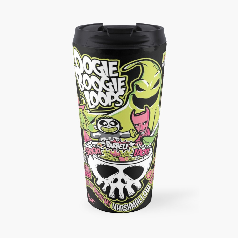 Oogie Boogie Loops Travel Mug