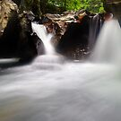 The Magic Place - Lower Huntington Gorge by Stephen Beattie