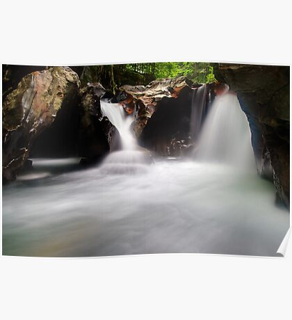 The Magic Place - Lower Huntington Gorge Poster
