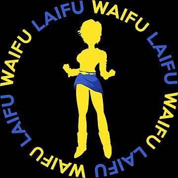 Waifu Anime Inspired Shirt by JaneFlame