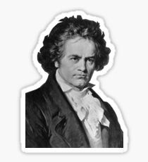 Ludwig van Beethoven Sticker