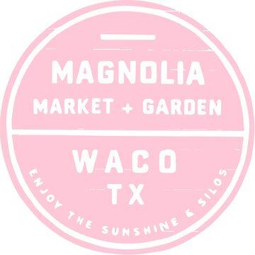 Magnolia Market Pink by magdalayna