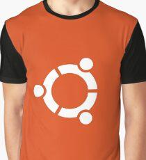 Ubuntu logo orange / white Graphic T-Shirt