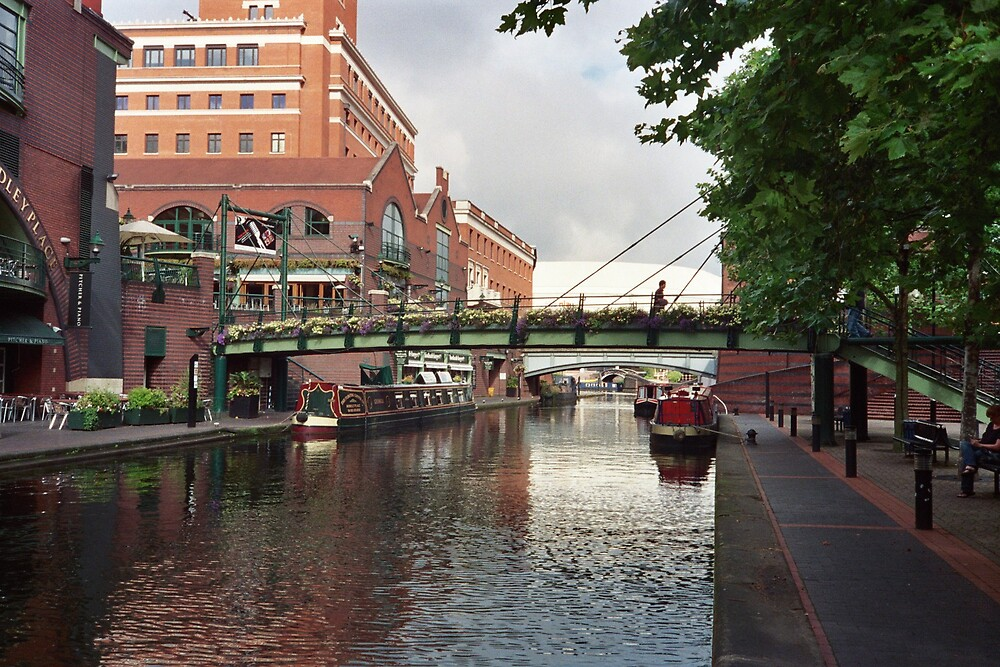 Birmingham Canal by Ray Vaughan
