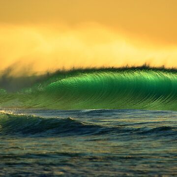 green waves by steen
