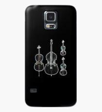 The Four Strings - Violin, Viola, Cello, Bass  Case/Skin for Samsung Galaxy