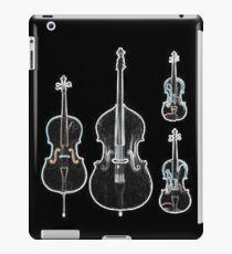 The Four Strings - Violin, Viola, Cello, Bass  iPad Case/Skin