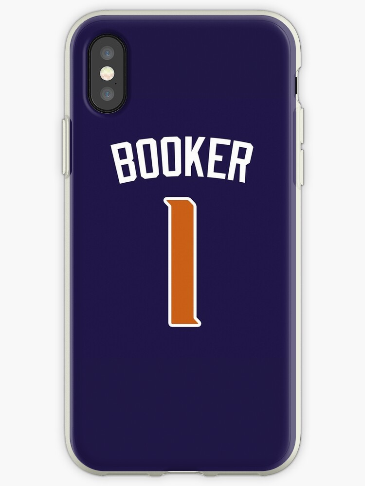 watch 16224 eb628 'Devin Booker Jersey Bag' iPhone Case by csmall96