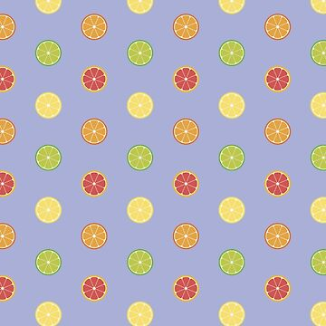 Citrus Pattern by NVDesigns