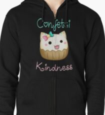 Confetti Kindness Zipped Hoodie