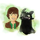 Forbidden friendship - Hiccup x Toothless by liajung
