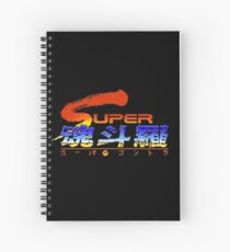 Super Contra Japanese Open Title Spiral Notebook