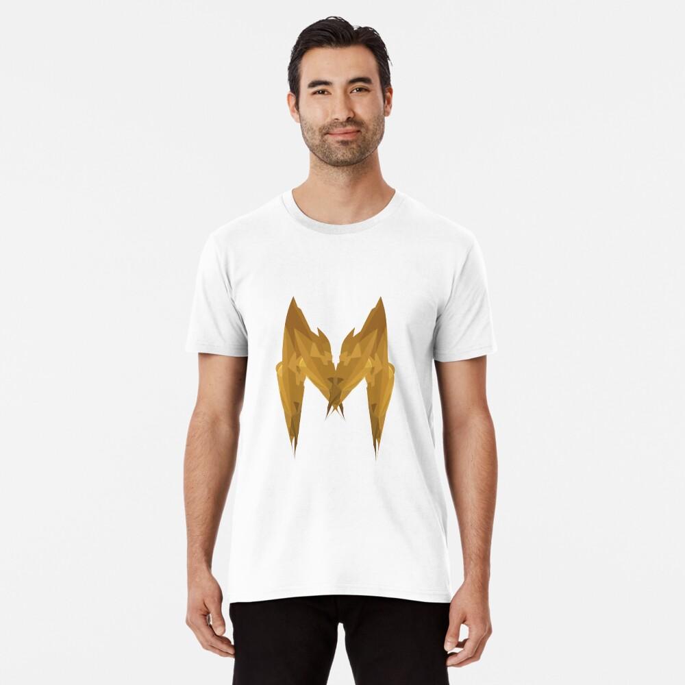 M - Die goldenen Buchstaben Premium T-Shirt