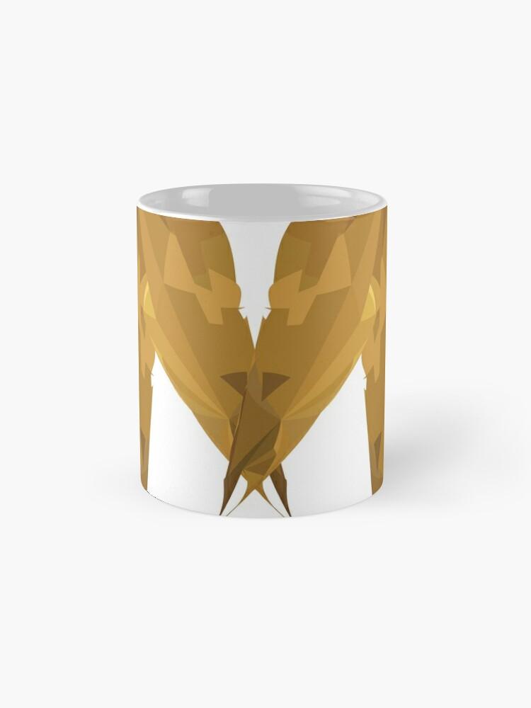 Alternative Ansicht von M - Die goldenen Buchstaben Tasse (Standard)